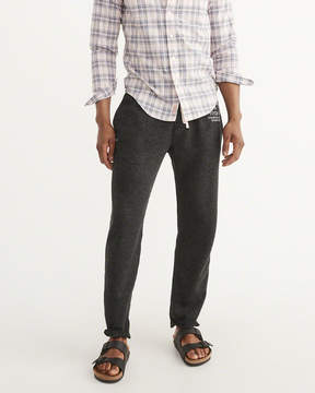 Abercrombie & Fitch Fleece Logo Pants