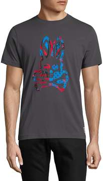 Psycho Bunny Men's Graphic Cotton Tee