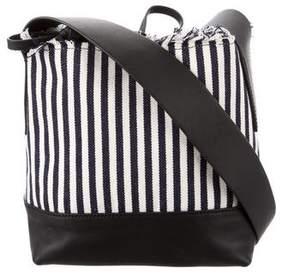 Loeffler Randall Striped Bucket Bag w/ Tags