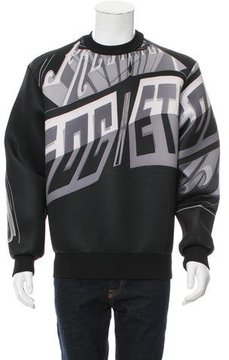 Juun.J Printed Neoprene Sweatshirt w/ Tags