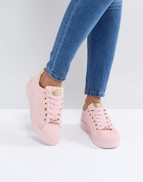Ted Baker Pink Suede Color Drench Sneakers