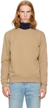 MSGM Brown Back Logo Sweatshirt
