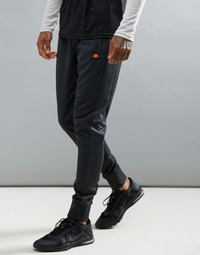 Ellesse Sport Joggers With Ribbing in Skinny Fit