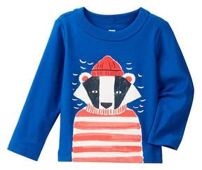 Tea Collection Salty Badger Graphic Tee (Baby Boys)