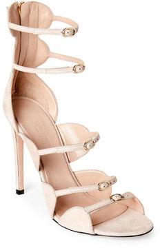 Giambattista Valli Off-White Strappy High Heel Sandals