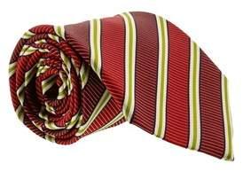 Gianfranco Ferre J087 U3f Red Silk Mens Tie.