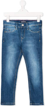 Tommy Hilfiger Junior faded slim-fit jeans