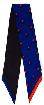 Marc Jacobs Silk Printed Scarf w/ Tags