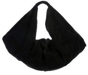 Maison Margiela Whipstitch-Accented Leather Hobo