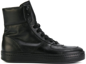 Ann Demeulemeester hi-top sneaker boots