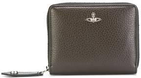 Vivienne Westwood logo zip around wallet