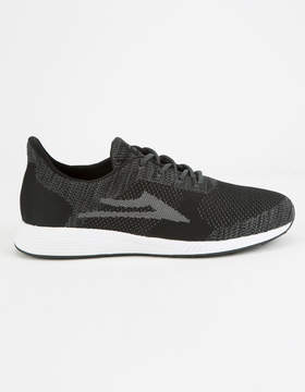 Lakai Evo Black & Grey Knit Mens Shoes