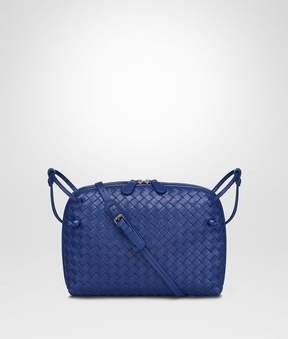 Bottega Veneta Cobalt Intrecciato Nappa Leather Nodini Bag