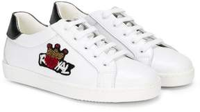 Dolce & Gabbana royal embellished sneakers