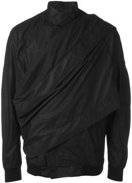 Julius wrap front rain jacket