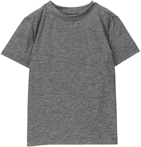 Gymboree Gray Performance Knit Active Tee - Boys