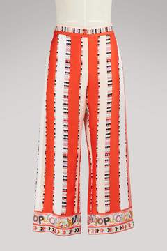 Emilio Pucci Ama silk pants