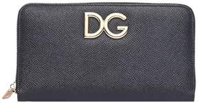 Dolce & Gabbana Black Peather Wallet - NERO/ROSA - STYLE