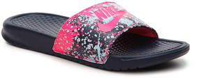 Nike Women's Benassi Just Do It Floral Slide Sandal