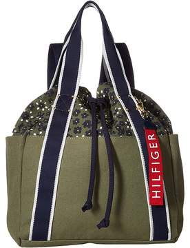 Tommy Hilfiger Classic Tommy Drawstring Backpack Backpack Bags