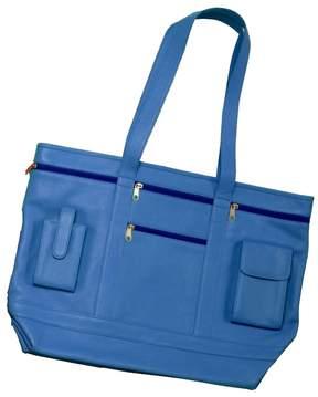 Royce Leather Pockets & Loops Business Shoulder Bag