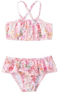 Seafolly Girls' Prairie Girl Bikini Set (2T7) - 8148027
