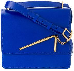 Sophie Hulme flap shoulder bag