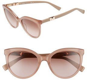 Max Mara Women's Jeweliis 54Mm Gradient Cat Eye Sunglasses - Nude