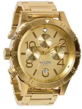 Nixon 'The 48-20' Chronograph Watch, 48Mm