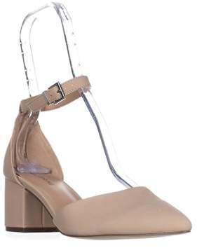 Call it SPRING Trivio Ankle Strap Block Heel Sandals, Bone.