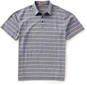 Roundtree & Yorke Gold Label Short-Sleeve Double Stripe Polo