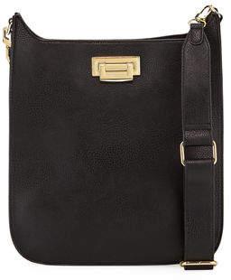 Neiman Marcus Marty Messenger Crossbody Bag