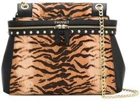 Twin-Set animal-print tote