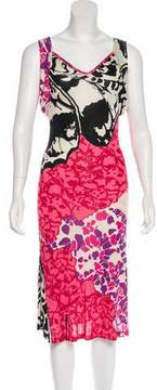 Christian Lacroix Sleeveless Printed Dress