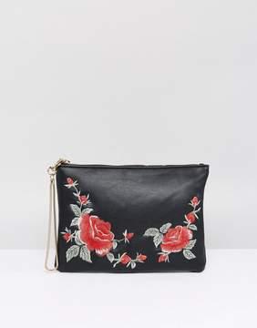 Oasis Rose Embellished Clutch