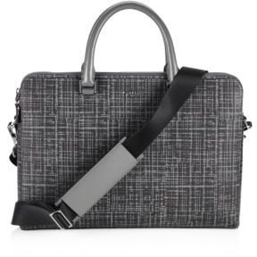 Michael Kors Patterned Leather Briefcase