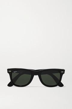 Ray-Ban The Wayfarer Acetate Sunglasses - Black