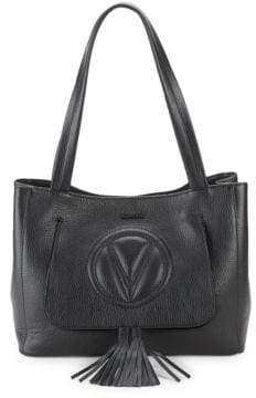 Mario Valentino Estelle Leather Shoulder Bag