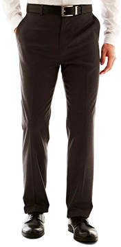 Jf J.Ferrar Men's JF Solid Flat-Front Slim Fit Big & Tall Pants