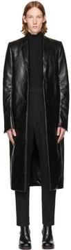 Rick Owens Black Moreau Coat