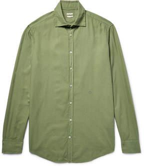 Massimo Alba Genova Brushed Modal And Cotton-Blend Shirt