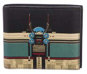 Givenchy Robot Print Bifold Wallet