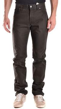 Aspesi Men's Black Cotton Jeans.