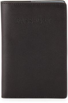 Neiman Marcus Leather Passport Holder