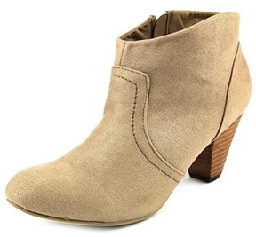 XOXO Aldenson Pointed Toe Synthetic Bootie.