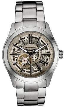 Kenneth Cole Stainless Steel Skeleton Bracelet Watch, 10030815