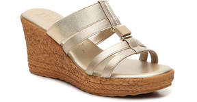 Italian Shoemakers Women's Strappy Wedge Sandal