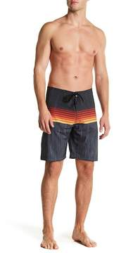 Burnside Stripe Stretch Board Shorts