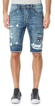 Buffalo David Bitton Parker Distressed Denim Shorts