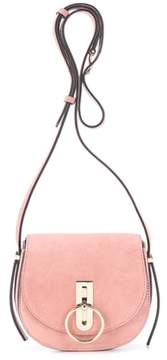 Nina Ricci Compas Small suede shoulder bag